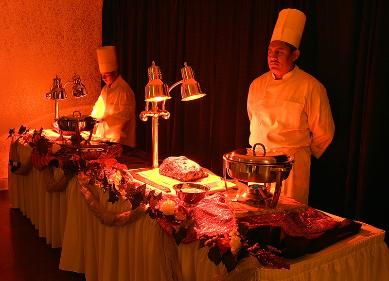 Menus for holiday events