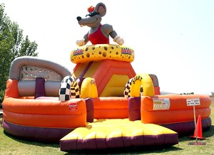 James Events Productions Inflatable Rat Race