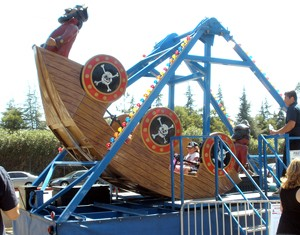 James Events Productions Pirate Ship