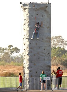 James Events Productions Hydro Climbing Wall
