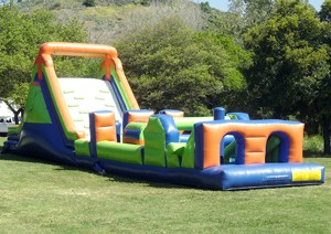 James Events Productions Inflatable Obstacle Course
