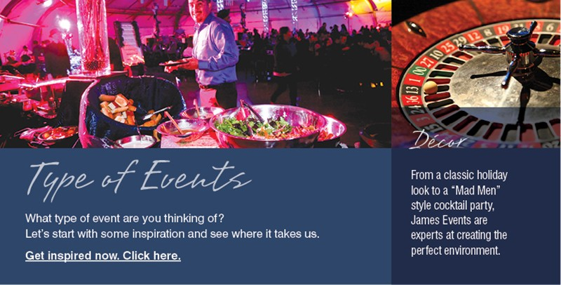 company holiday event planning and types of events we offer in orange county ca