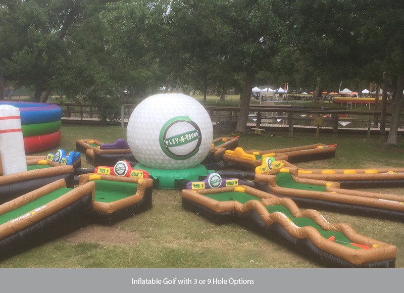 James Events Productions Inflatable Golf