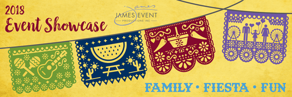 James Events Productions Join us on May 2 for our 2018 Event Showcase